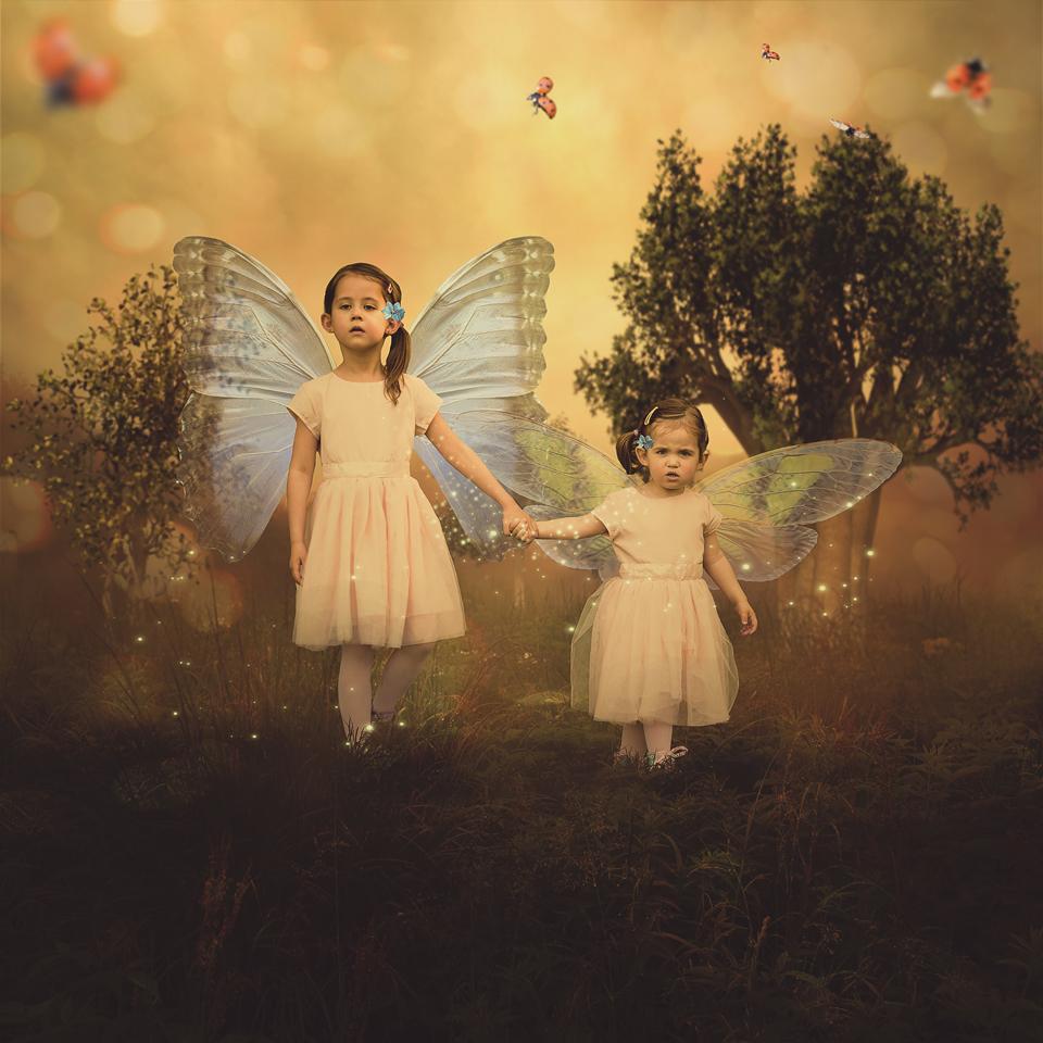 fotografia artystyczna dobre wróżki.Dzieci i ich magiczny świat - fotografia dziecięca